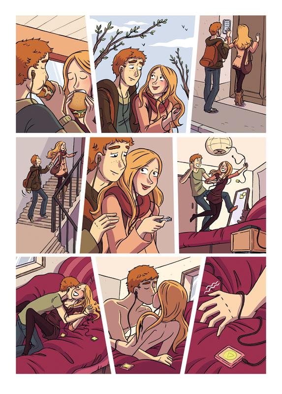 sexe à la campagne le sexe de bande dessinée